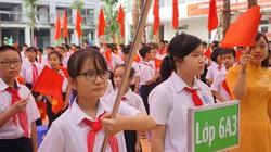 Hà Nội: Khai giảng không bóng bay, thân thiện với môi trường