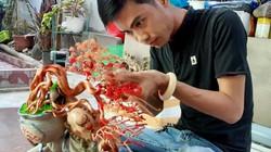 'Hot boy' An Giang 'hô biến' sợi dây đồng thành cây bonsai dáng lạ