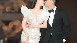 Vợ chồng Khánh Thi sánh đôi, trao nụ hôn ngọt ngào khi dự sự kiện