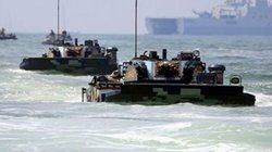Thủy, lục, không quân TQ đồng loạt tập trận đổ bộ, cảnh báo sắc lạnh Đài Loan