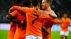 """Kết quả vòng loại Euro 2020: Depay, De Bruyne """"lên đồng"""", Hà Lan, Bỉ đại thắng"""