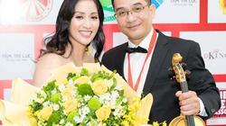 Khánh Thi cùng chồng con mừng anh trai nhận kỷ lụcVN