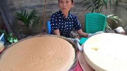 """Bà Tân Vlog bị bóc mẽ """"điêu, gian dối"""" trong clip làm bánh bông lan trứng muối khổng lồ"""