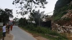 Yên Bái: Mỏ đá ngang nhiên nổ mìn cạnh tỉnh lộ, đá văng vào nhà dân