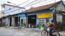 Ảnh-clip: Giữa Hà Nội mới xuất hiện một ngôi làng bích họa