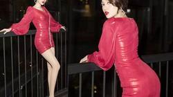 Váy bèo nhún hồng rực của Bảo Anh đẹp nhất tuần
