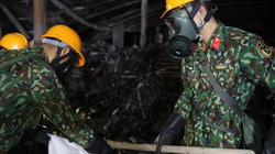Quy trình tẩy độc khu vực cháy ở công ty Rạng Đông diễn ra thế nào?