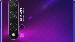 Rò rỉ smartphone Android tiếp theo của Huawei: Nova 5T với 5 camera AI