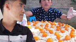 """Con trai bà Tân Vlog lên tiếng  về """"clip làm bánh bông lan"""""""