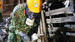 5 tấn phế thải độc hại được gom trong kho Công ty Rạng Đông