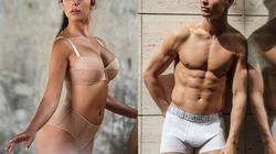 CR7 cạnh tranh thị trường quảng cáo đồ lót với bạn gái người mẫu