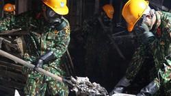 Binh chủng Hóa học tiếp tục thu dọn phế thải ở Công ty Rạng Đông