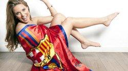 Ngất ngây với vẻ đẹp của nữ cule xinh nhất nhì lịch sử Barca