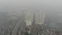 Ảnh Hà Nội ô nhiễm không khí: Trời mù mịt, bụi mịn giăng như sương
