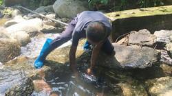"""Bắc Kạn: Công trình nước sạch hết sạch nước, dân lo bị """"rút ruột"""""""