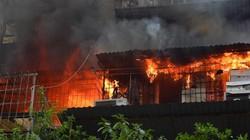Hà Nội: Hiện trường cháy lớn chuồng cọp khu tập thể Kim Liên