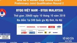 Mua vé online ĐT Việt Nam đấu Malaysia: Chậm 1 giây là hỏng!