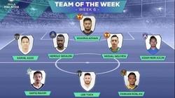 """Trung vệ Việt kiều CH Czech lọt vào """"Đội hình tiêu biểu"""" Malaysia Cup"""