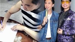 """Ngọc Sơn ký xác nhận tặng quà """"khủng"""" cho trò cưng, cả showbiz """"ganh tỵ"""""""