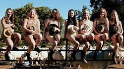 40 sinh viên khỏa thân chụp ảnh gây quỹ giúp nông dân