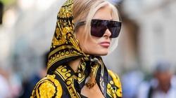 5 cách dùng khăn lụa sành điệu nhất hiện nay