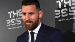 Messi chia sẻ điều đặc biệt sau khi nâng cao giải thưởng The Best