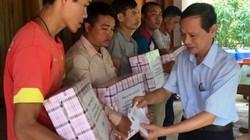 Thanh Hóa: T.Ư Hội NDVN tặng quà đồng bào bị lũ quét ở Quan Sơn
