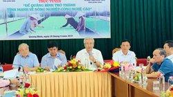 """Quảng Bình: Năm """"nhà"""" bàn cách phát triển nông nghiệp CNC"""