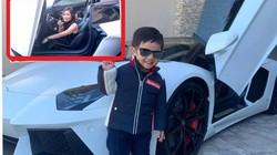 """""""Choáng"""" vì vợ đại gia của Đan Trường đưa con trai cưng đi dạo bằng siêu xe 20 tỷ"""