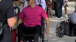Bất ngờ hình ảnh hôn phu cũ của Phạm Băng Băng phải ngồi xe lăn