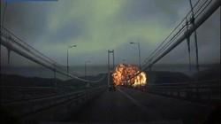 Hàn Quốc: Khoảnh khắc tàu chở dầu 25.000 tấn phát nổ tạo cột lửa hình nấm