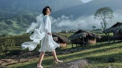 Lê Thanh Hòa thổi hồn cho váy dáng dài, măng tô trong BST cảm hứng Tây Bắc