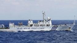 Tàu Trung Quốc lại vào vùng biển tranh chấp