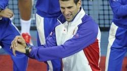 """Djokovic nhảy Gangnam Style cực """"sung"""" mừng chiến thắng"""