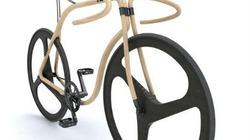 Xe đạp bằng gỗ, không phanh có giá tiền tỉ