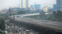 Đường cao tốc trên cao đầu tiên ở Hà Nội - đi thế nào?
