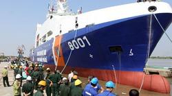 Lễ hạ thủy tàu Cảnh sát biển 8001