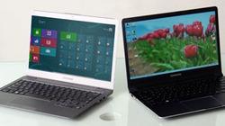 Ngắm bộ đôi laptop Windows 8 đầu tiên của Samsung