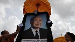 Thi hài cựu quốc vương Campuchia sẽ được hỏa táng