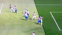 Clip: Trọng tài giúp Juventus đánh bại Catania