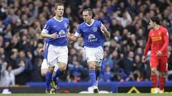 Liverpool đánh rơi chiến thắng trước Everton