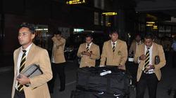 Đội tuyển Malaysia đã có mặt tại Việt Nam