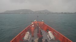 Cứu 12 người trên tàu bị cháy giữa biển