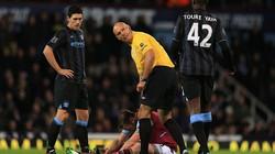 Man City bị West Ham chia điểm không bàn thắng