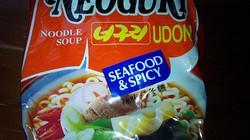 Thu hồi 2 sản phẩm mỳ Hàn Quốc có chất gây ung thư