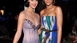 """Tái hợp bạn trai, Rihanna bị Katy Perry """"kiềng mặt"""""""