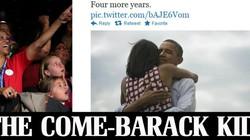 Người Mỹ ăn mừng chiến thắng của Obama