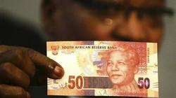 Nam Phi lưu thông tiền mới in hình ông Mandela