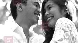 Ảnh cưới lần đầu được tiết lộ của Tăng Thanh Hà