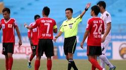 Cầu thủ V.Ninh Bình chịu phạt 1 tháng lương
